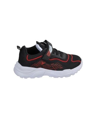 Cosby 306 F.Ayk Buz-Pembe  Çocuk Spor Ayakkabı Siyah